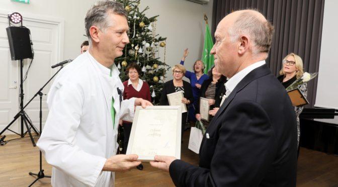 ITK Aasta Arst 2016 on uroloog dr Armen Ahlberg
